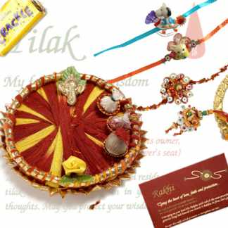 Upgraded Rakhi Thali C1121