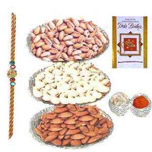 Healthy Rakhi Small Hamper C1061