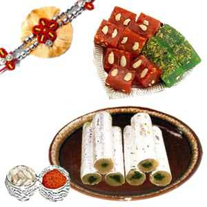 Rakhi Medium Size Pack C1056