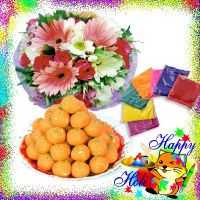 Color N Flowers N Ladoo