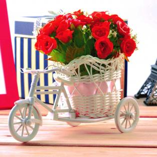 Red Roses Bicycle