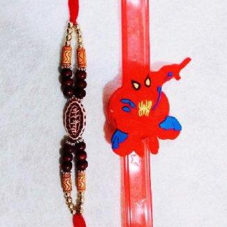 Spiderman and Mere Bhaiya Rakhi