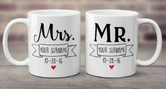 2 Mr and Mrs Mugs